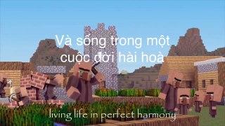 Vietsub The Diamond King MineCraft Vietsub song