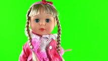 Oyuncak Bebek Aslı Şarkı Söyleyen Yürüyen Bebeğim