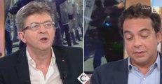 C à vous : Échange très tendu entre Jean-Luc Mélenchon et Patrick Cohen, malaise sur le plateau (vidéo)