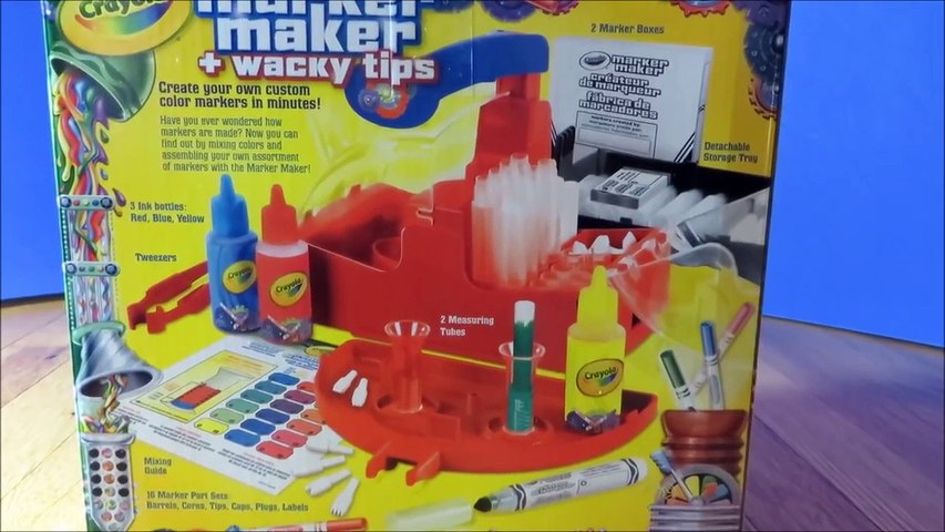 Crayola Marker Maker Kit -Easy Create DIY Your Own Custom Colors & Markers