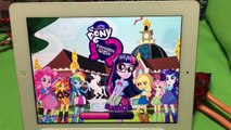 New Rollerskating Scanning Sunset Shimmer Equestria Girls App MLP Friendship Games My Little Pony
