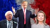 Donald Trump vs Hillary Clinton vs Bernie Sanders