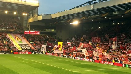 Liverpool - Dortmund: le You'll never walk alone à Anfield !