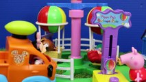 Bubble Guppies & Peppa Pig Mermaid Hospital with The Little Mermaid Ariel Oona Play Doh Food