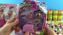 Shopkins Oyun Hamuru DEV Sürpriz Yumurta Açımı Cicibiciler 4. Sezon Disney Tsum Tsum Oyuncakları