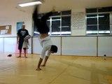 Faustinho e a arte da capoeira