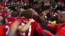 4-3 Dejan Lovren Goal - Liverpool 4-3 Borussia Dortmund 14.04.2016