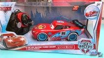 Disney Pixar Cars Flash McQueen Ice Racers turbo radiocommandé français 4k McQueen Les Bagnoles