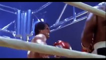 Clubber Lang/Mr T ForeShadows His Fight with Rocky/Slyvester Stallone (Rocky 3)