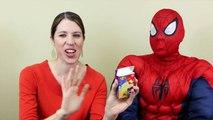 BEAN BOOZLED Challenge Jelly Belly DisneyCarToys & Spiderman Gross Jelly Bean Challenge