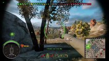 World of Tanks 268 HEAT round bounces waffentrager e100s turret