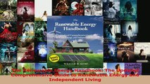 The Renewable Energy Handbook The Updated Comprehensive Guide to Renewable Energy and