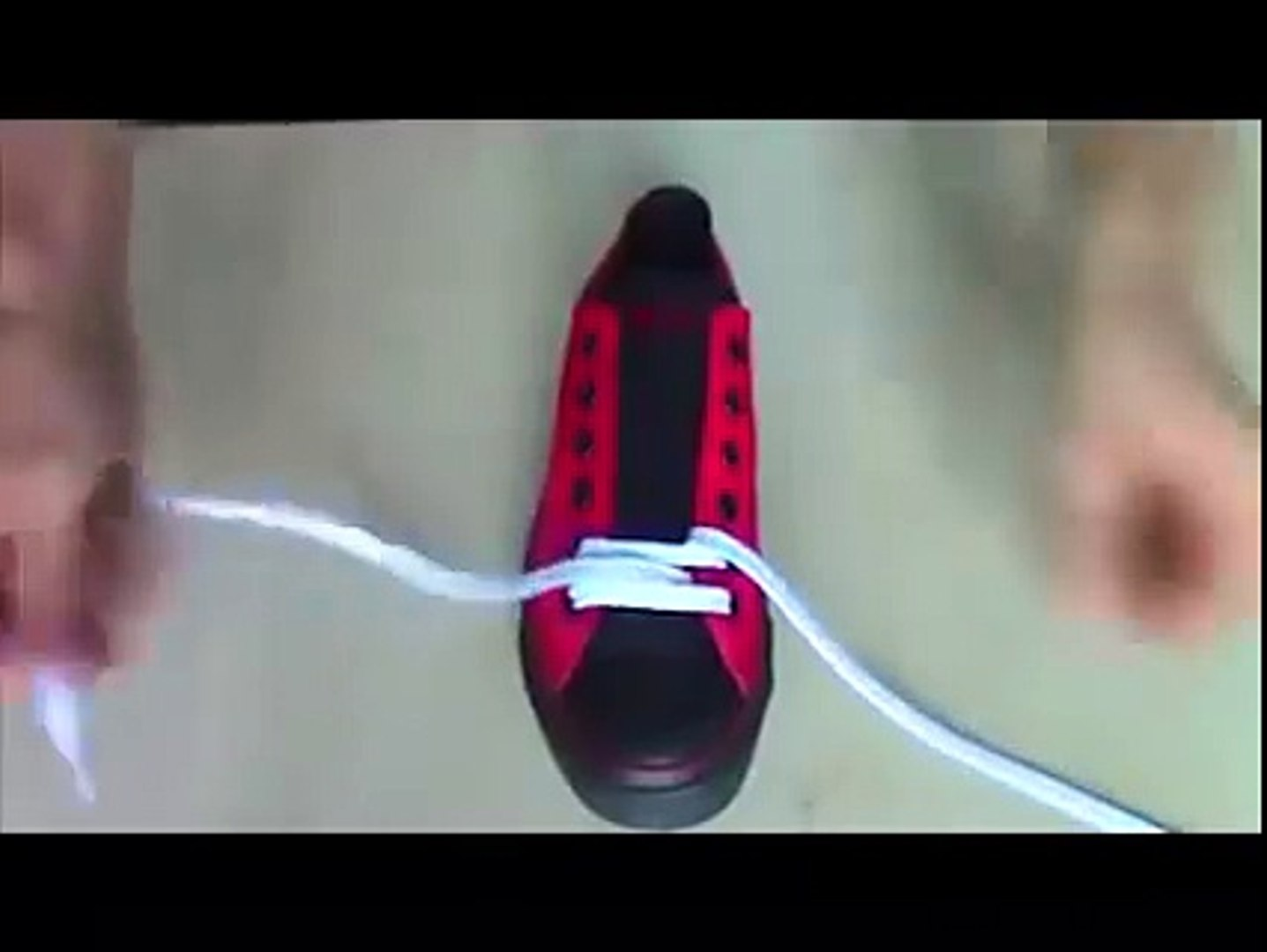 How to shoes laces