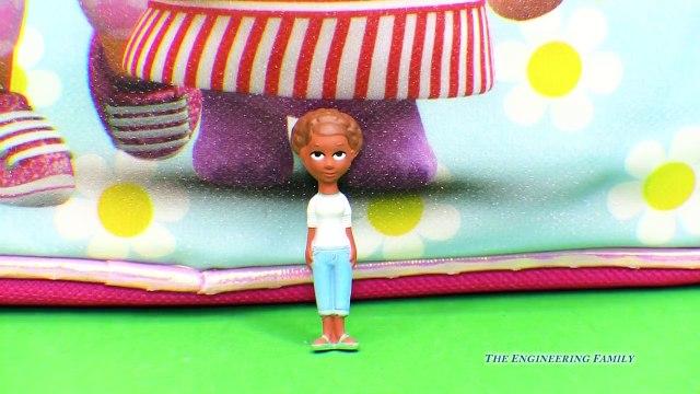 DOC MCSTUFFINS Disney Doc McStuffins Surprise Backpack a Doc McStuffins Surprise Egg Video