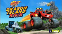 Blaze and the Monster Machines Island Race Full Episodes in English Cartoon Games Movie New Blaze