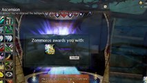 The Ascension on all Races - Legendary Backpack + Glider - Guild Wars 2