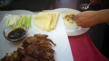How to eat Peking duck. Chinese restaurant in Torrevieja