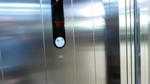 new Kone Ecodisc elevator@Polus City Center, Bratislava