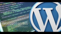 WordPress 101 - Part 5- How to create Custom and Specialized Page Templates