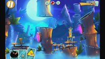 Angry Birds 2 - Gameplay Walkthrough Part 5 - Levels 36-43! 3 Stars! Eggchanted Woods!