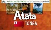 """Paradise Island"" Sanne's photos around Atata, Tonga (paradise island tonga)"