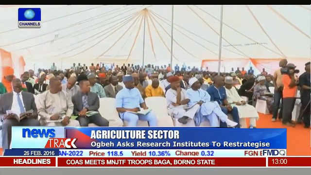 Agriculture Sector: Ogbeh Says Research Should Produce Results