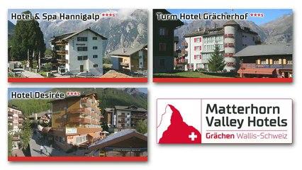 Bergsommerferien mit den Matterhorn Valley Hotels Grächen