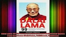 Download  Dalai Lama 99 Life Lessons Inspiration and Motivational Quotes From Dalai Lama Dalai Full EBook Free