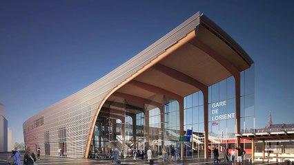 Visite virtuelle de la Gare de Lorient