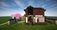 Minecraft Tutorial [FR] | How to build a Japanese House [N°4