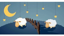 Counting Sheep to Help You Sleep Song ♫ 2 HOURS ♫ Relaxing Lullaby Music ♫