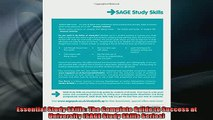 FREE DOWNLOAD  Essential Study Skills The Complete Guide to Success at University SAGE Study Skills READ ONLINE