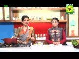 Green Vegetable Salad By Chef Rida And Chef Zubaida In Mazedar Daal Sabzi