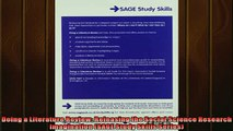 READ book  Doing a Literature Review Releasing the Social Science Research Imagination SAGE Study  FREE BOOOK ONLINE