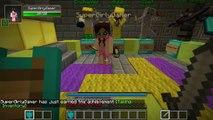 PAT And JEN PopularMMOs | Minecraft  EXTREME BLACK LUCKY BLOCK RACE - Lucky Block Mod - Mini Game