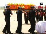 Army Chief pays last tributes to Major Amit Deswal