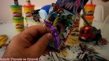 Dev Yumurta Transformers Bumble Bee Dev Sürpriz Yumurta Açma  Play Doh Oyun Hamuru Oyuncaklar #13