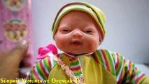 Atractive Oyuncak Bebek - Gülen, Ağlayan, Uyuyunca Horlayan ve Biberon Emen Oyuncak Bebek