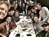 F1 China Grand Prix 2016 - F1 drivers met up for dinner ahead of the Chinese Grand Prix