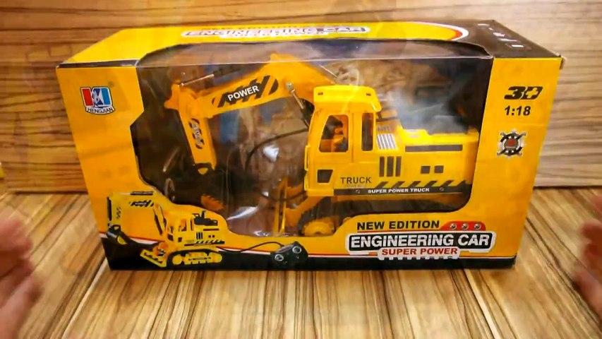 Kumandalı Oyuncak Kepçe Paletli Excavator izle  Remote Constraction Toys - İş Makinesi Oyuncaklar