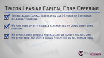 Tricon Leasing Group - Tricon Leasing Capital Corp Reviews