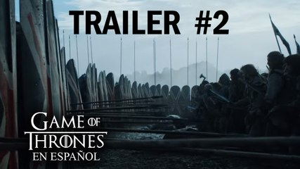 Trailers #2, temporada 6 | Game of Thrones en español