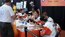 RIT Tigers sign autographs