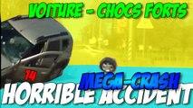 Méga-Crash | Horrible accident | Compilation de Méga-Crash en voiture n°14
