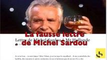 Michel Sardou n'a pas envoyé de lettre xénophobe à François Hollande