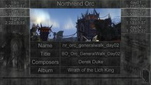 World of Warcraft: Wrath of the Lich King Music: Northrend Orc