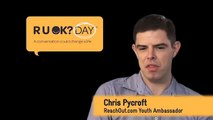 ReachOut.com's Chris Pycroft urges young people to have conversations with each other (R U OK?)