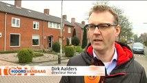 Aardbevingsauto legt gevels van woningen in het aardbevingsgebied vast - RTV Noord