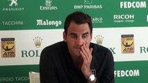 ATP - Monte-Carlo Rolex Masters 2016 - Roger Federer revient sur sa défaite contre Jo-Wilfried Tsonga