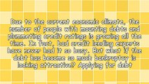 Debt Consolidation Loans With Bad Credit: Clearing Debts With One Affordable Payment